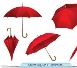 玉溪弯把雨伞|长把雨伞|折叠雨伞